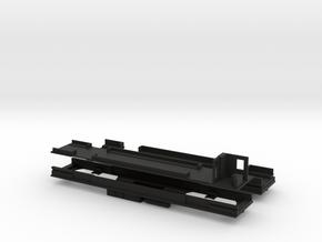 Boden mit Inneneinrichtung für U-Bahn A1 Tw+Bw in Black Natural Versatile Plastic