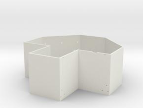 07f-J-Cruciform in White Natural Versatile Plastic
