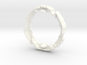 GT-45 Infinite Shield Ring Replacement in White Processed Versatile Plastic