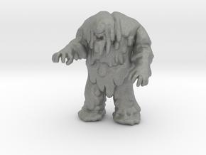Tar Monster miniature model fantasy games dnd rpg in Gray PA12