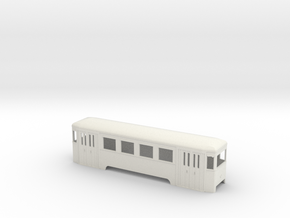 n2 Wiener Stadtbahn Beiwagen in White Natural Versatile Plastic