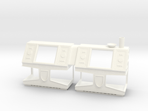 Custom Jabba's Palace Gaming Console in White Processed Versatile Plastic