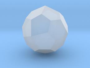 Pentagonal Icositetrahedron (Laevo) - 10mm in Smooth Fine Detail Plastic