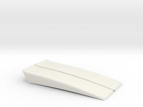 RC4WD Blazer Hood Scoop Cowl Hood in White Natural Versatile Plastic: 1:10