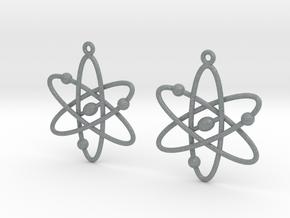 Atom Earring Set in Polished Metallic Plastic