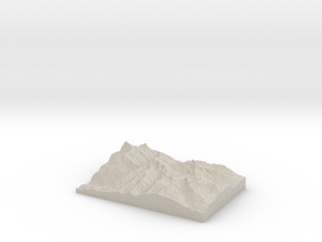 Model of Unknown Location in Sandstone