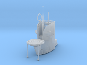 1/100 Uboot IIB U9 Conning Tower in Smooth Fine Detail Plastic