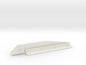 Gottlieb B-10808 - Score Reel Guide in White Natural Versatile Plastic