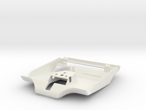 Lancia Delta light & clock cover in White Natural Versatile Plastic