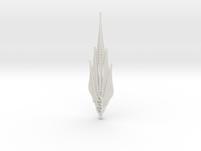 Wing Spear in White Natural Versatile Plastic