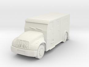 International Armored Truck 1/48 in White Natural Versatile Plastic