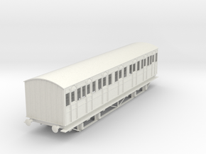 o-43-metropolitan-8w-composite-coach-mod in White Natural Versatile Plastic