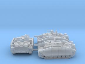 Krieg Light Assault Guns in Smooth Fine Detail Plastic