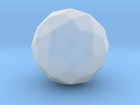 Deltoidal Hexecontahedron - 10mm - Round V2 in Smooth Fine Detail Plastic