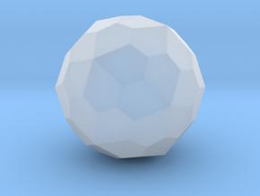 Pentagonal Hexecontahedron (Dextro) - 10 mm-Round1 in Smooth Fine Detail Plastic