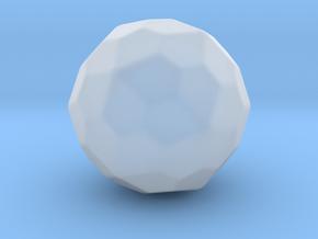 Pentagonal Hexecontahedron (Dextro) - 10mm-Round2 in Smooth Fine Detail Plastic