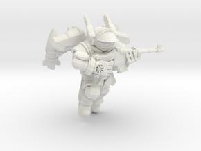 Astroknight Rocketman Visored in White Natural Versatile Plastic