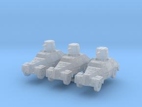 Marmon herrington mk1 (x3) 1/285 in Smooth Fine Detail Plastic