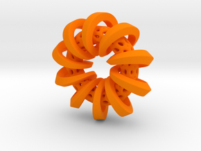 Encircle in Orange Strong & Flexible Polished