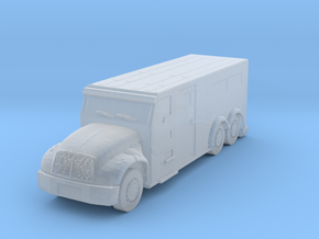 International Armored Truck 6x6 1/200 in Smooth Fine Detail Plastic