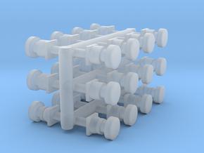 N Gauge Buffers in Smooth Fine Detail Plastic