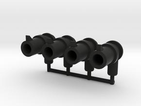 Combiner Wars Link Pistols in Black Natural Versatile Plastic