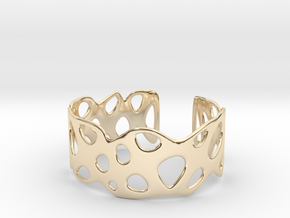 Cellular Bracelet Size S in 14K Yellow Gold