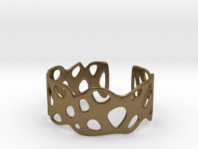Cellular Bracelet Size S in Natural Bronze