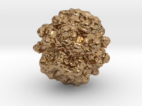 Fractal - Poission in Polished Brass