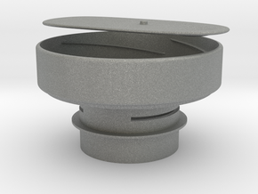 illy coffee can adapter (52mm hopper width) in Gray PA12
