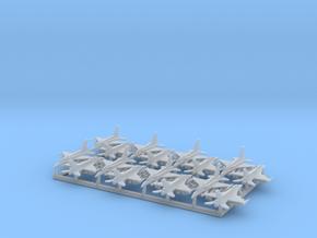 "F-16D ""Barak"" & I ""Sufa"" w/Gear (MD) in Smooth Fine Detail Plastic: 1:700"