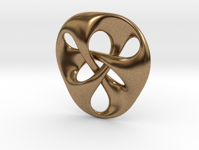 pendant III in Natural Brass