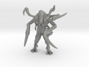 RE Jabberwock miniature model fantasy game dnd rpg in Gray PA12