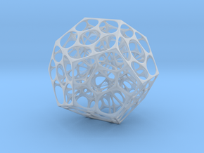 Voronoi Dodecahedron in Smooth Fine Detail Plastic