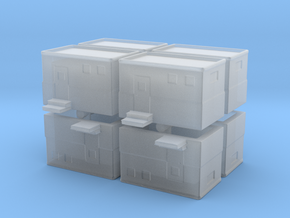 Machine Control Room (x8) 1/500 in Smooth Fine Detail Plastic