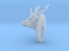 Deer  :1/24 scale in Smooth Fine Detail Plastic