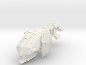 Cruiser II in White Strong & Flexible