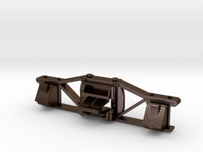 1:20.3 K-28&36 tender truck sideframe v38 in Polished Bronze Steel