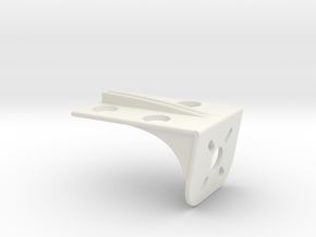 Rubbers Support v2.1 in White Natural Versatile Plastic