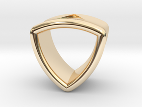 Stretch Shell 16 By Jielt Gregoire in 14K Yellow Gold