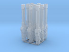 Light Rail Rifles in Smooth Fine Detail Plastic