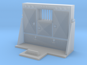 1/64th Scale Cabinet Style Headache rack 2 in Smoothest Fine Detail Plastic