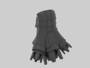 Jumppack for dreadnought in Smooth Fine Detail Plastic