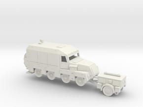 1/120 Panzermesskraftwagen  in White Natural Versatile Plastic