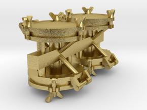 LTM-51 Waterdeksels V1.6. 4x in Natural Brass