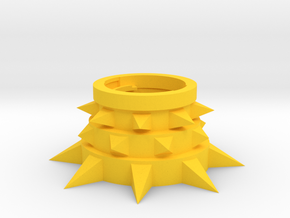 Beyblade Yak | Anime Attack Ring in Yellow Processed Versatile Plastic