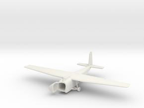 1/300  Hamilcar Glider on the Ground in White Natural Versatile Plastic