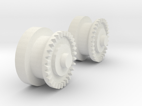 Imperial Shuttle Repair Kit Wing Gears in White Natural Versatile Plastic