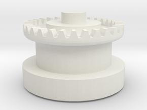 Imperial Shuttle Repair Wing Gear in White Natural Versatile Plastic