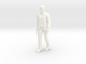 Clint Eastwood - Dirty Harry - Walking - 1.24 in White Processed Versatile Plastic